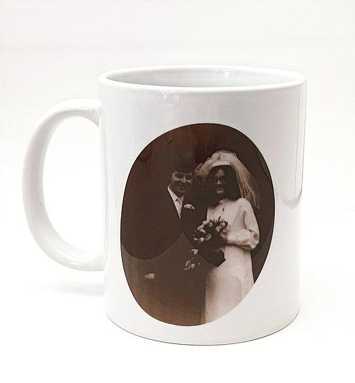 Personalised Photo & Text Mug