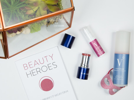 Inner Light Meets Outer Beauty:  Vapour Organic Beauty