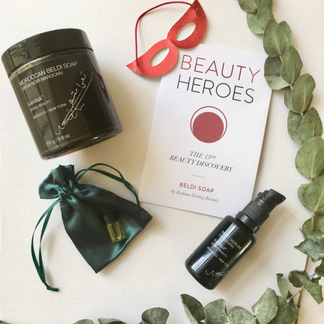 Ethical + Effective= Kahina Giving Beauty