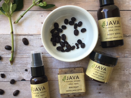 Caffeine-Infused:  Java Skincare