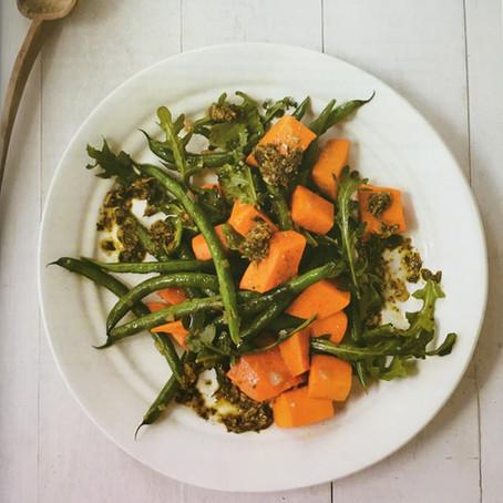 Chimichurri Sweet Potato Salad