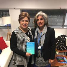 (Community) Farhana Yamin with Patricia