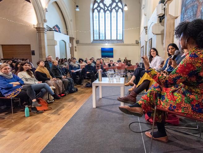 Mary Heglar in conversation with Grace Pengelly, Minnie Rahman and Hannah Martin, St Luke's Church - 'The Stories We Tell'