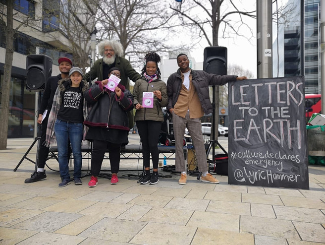 Lyric Hammersmith Theatre  host Letters to the Earth, April 12th 2019