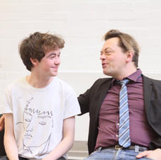 (Community) Alex Lawther and Simon Steph