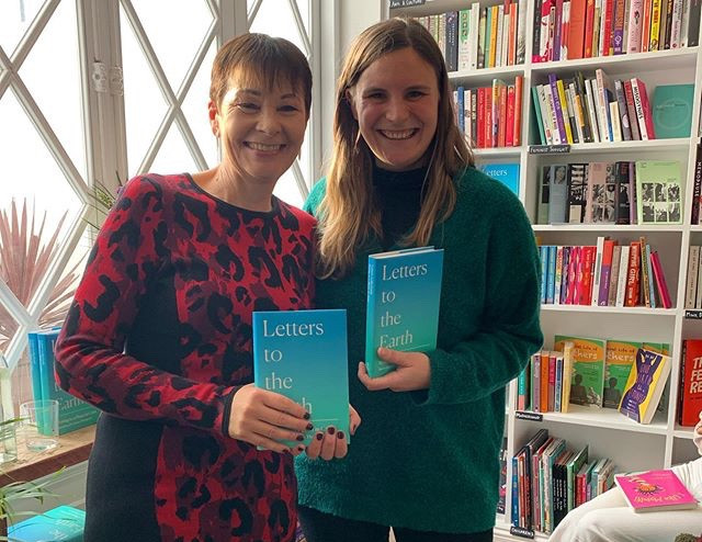 Green Party MP Caroline Lucas at Brighton Feminist Bookshop's Launch of Letters to the Earth, Nov 2019