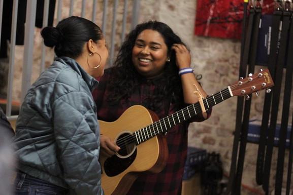 Sofar Sounds Boston with artist Bia Javier