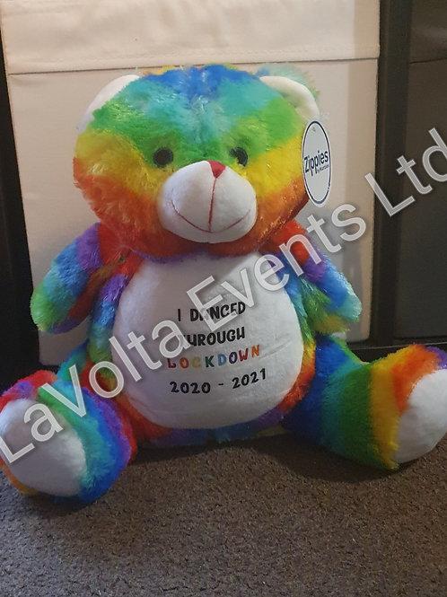 Lockdown Teddy Bear
