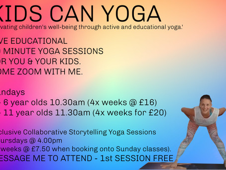 Guest Blog - Kids Can Yoga