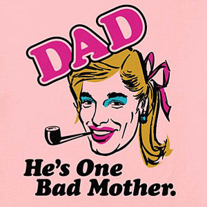 Funny father mother t-shirt for men, also in long sleeve, and hoodies, in many colors.