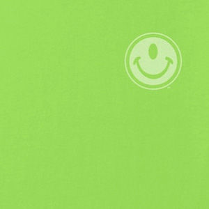 Smiley face logo on t-shirts in many colors, mens and womens.