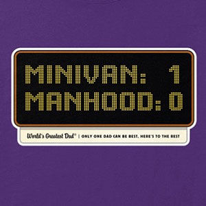 Minivan t-shirt for men, also available in long sleeve, and hoodies, and gifts in many colors.