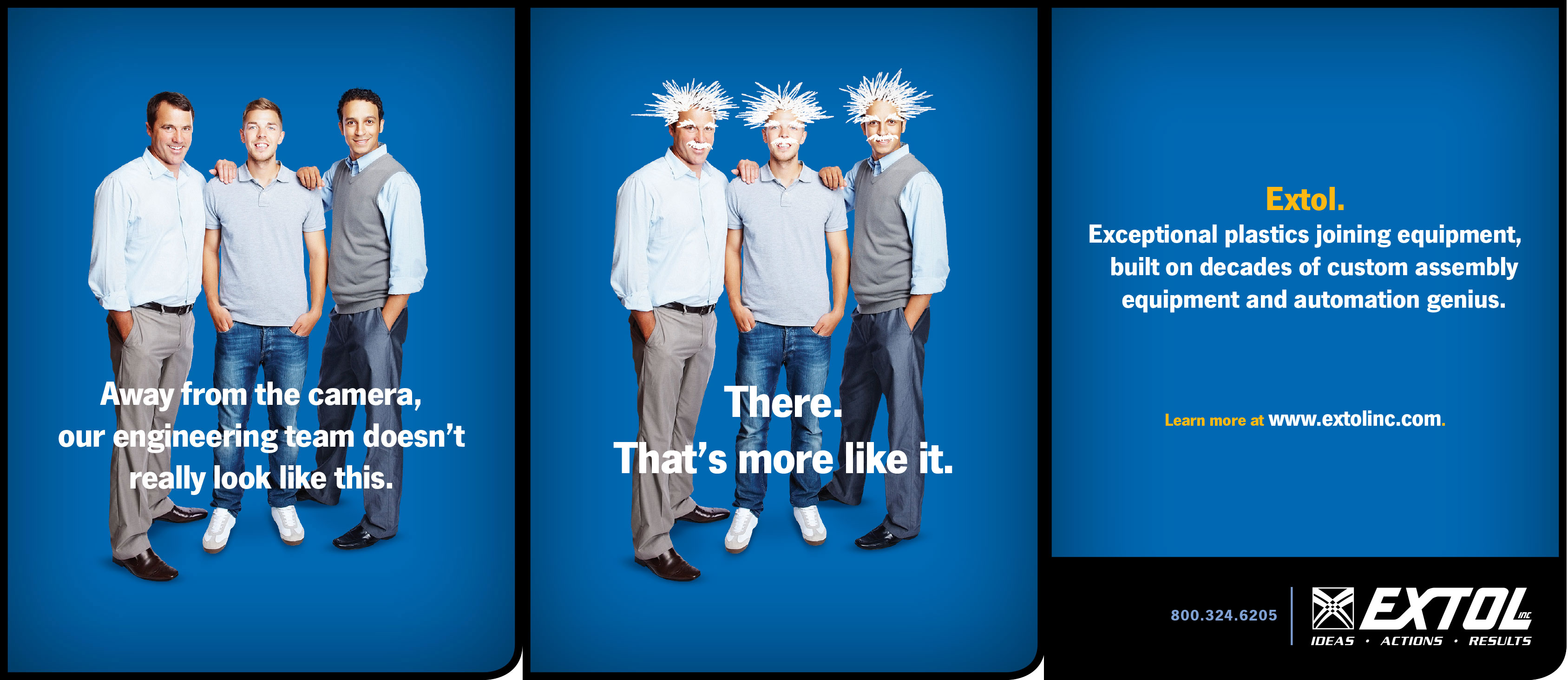 Extol 3-Page Trade Ad