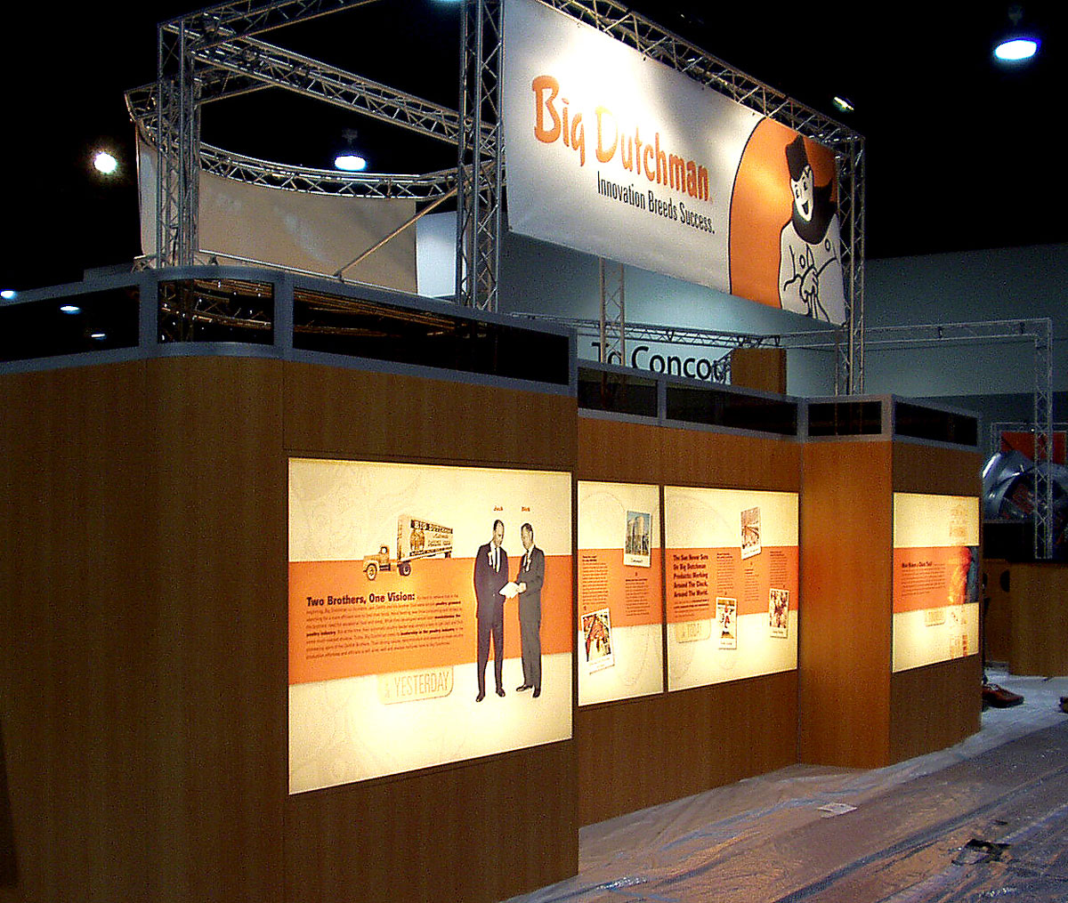 Big Dutchman Trade Show Displays