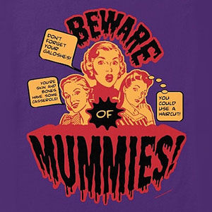 Mummies Halloween t-shirt for men and women, in many colors and styles.