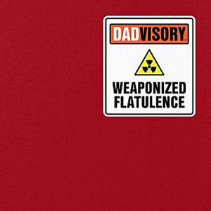 Fart t-shirt for dads in many colors, sizes and styles.