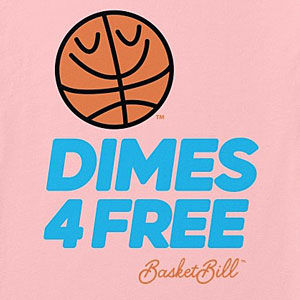 Basketball passing t-shirt in mens, womens and kids sizes and styles.