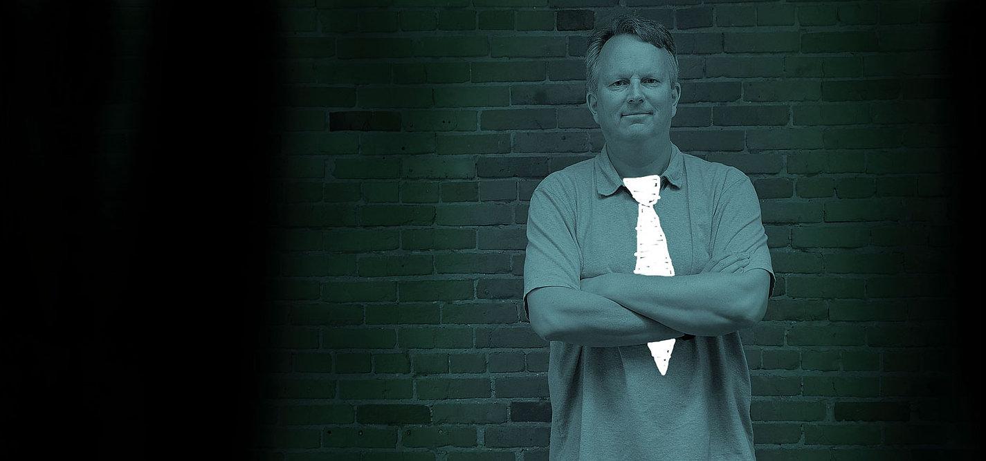 Pete Van Regenmorter advertising executive.