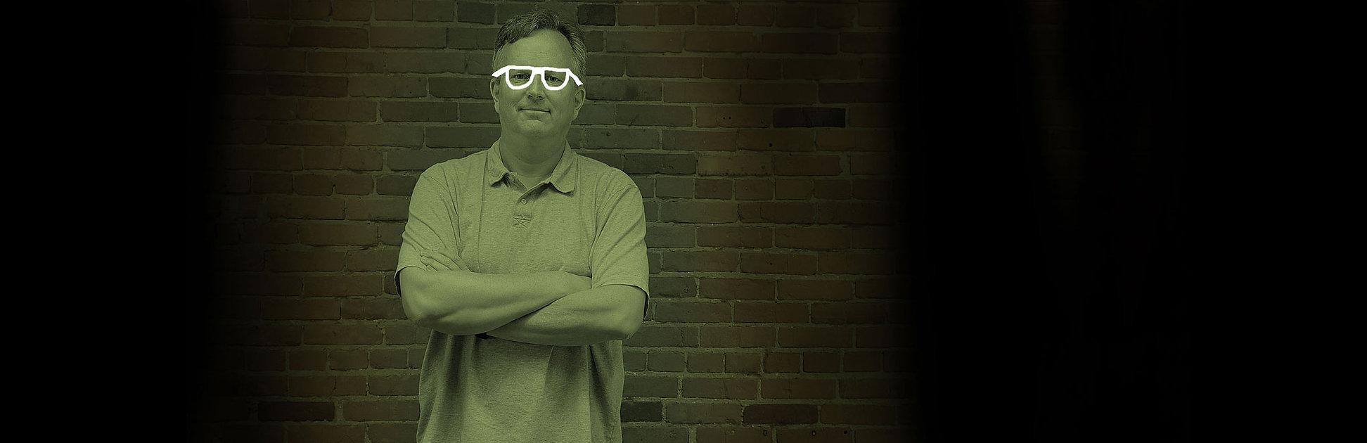 Pete Van Regenmorter advertising creative director.