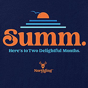 Summer shirt design for men and women in many colors of merchandise, including sweatshirts and hoodies.