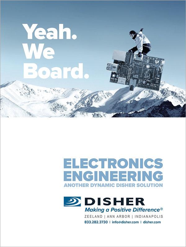 Electroincs advertising.