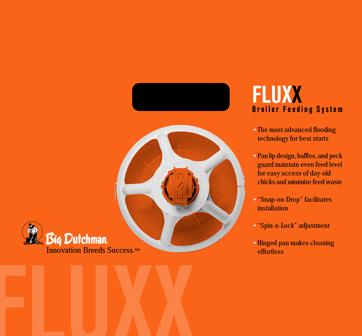 Big Dutchman Fluxx Packaging