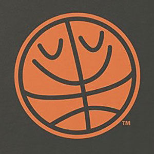 Basketball logo shirt that's also available on long sleeve, and hoodies in many colors.