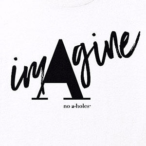 Imagine t-shirt, mens or womens, in many styles and colors.