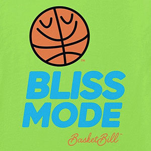 Happy basketball shirt that comes in long sleeve, sweatshirts, and hoodies too.