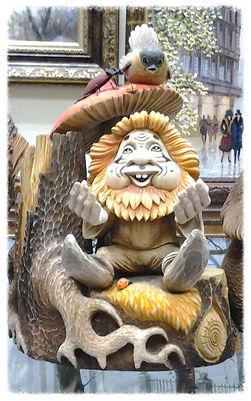 Деревянная скульптура малых форм Крестьянинов Виктор Михайловичь