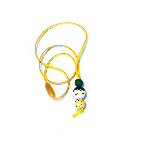 Necklace for girls Green