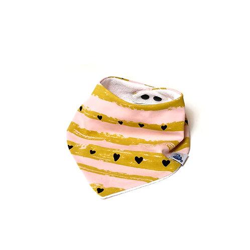 Baby bandana bib Harts design