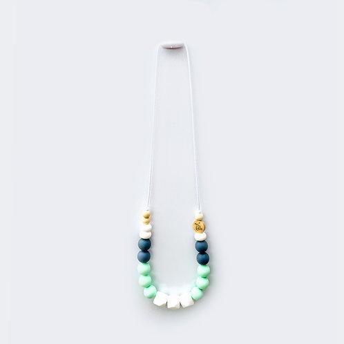 Ogrlica za mameZeleno/siva