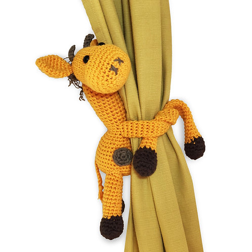 Curtain tieback Dolores the Giraffe