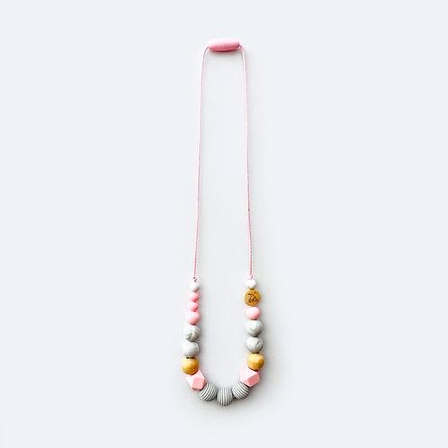 Ogrlica za mame Rozo/siva