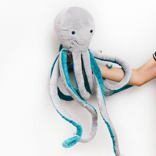 Ocho the Octopus Grey
