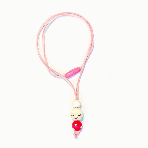Ogrlica za devojčice Bela