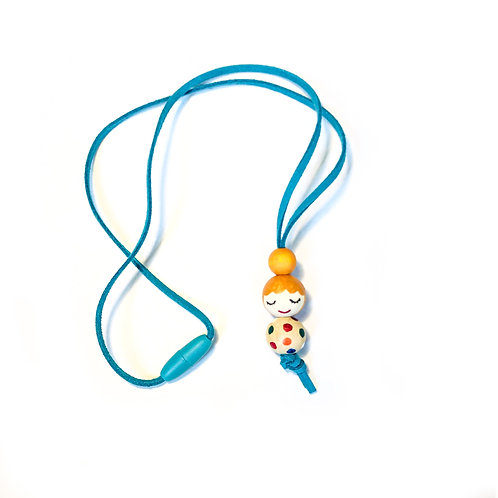 Necklace for girls Yellow