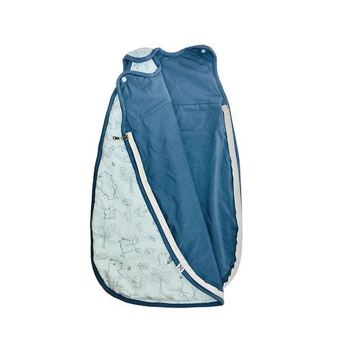 Vreća za spavanje Organski pamuk Plava