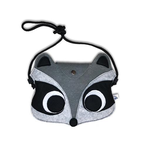 Felt bag Raccoon