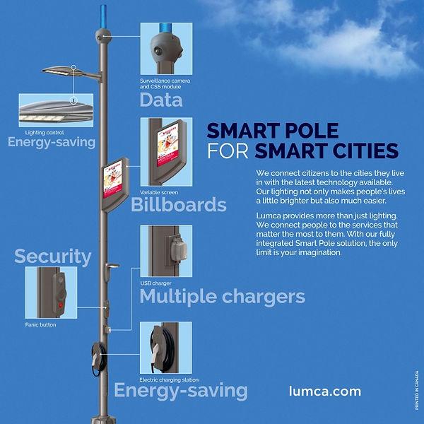 smart street poles