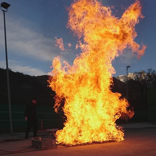 flächenbrand / PROFLEX / surface 1 to 2,8 sqm / m2