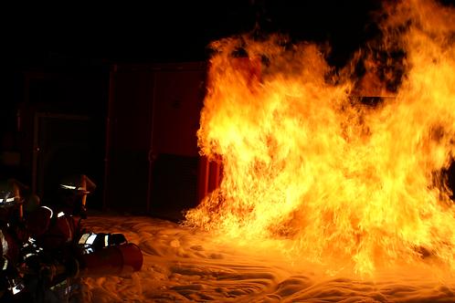 flächenbrand / VOLCAN firesheet  / boosted