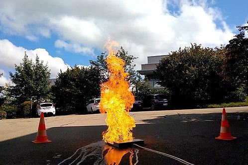 brandsimulator / firetrainer / simulateur d'incendie