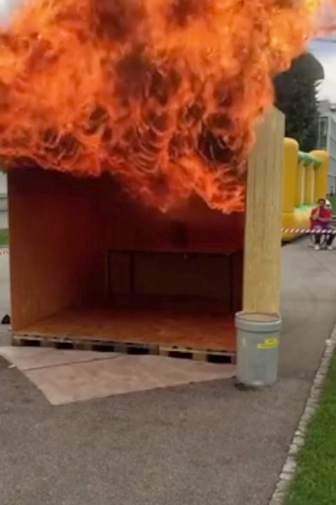 grease fire explosion module