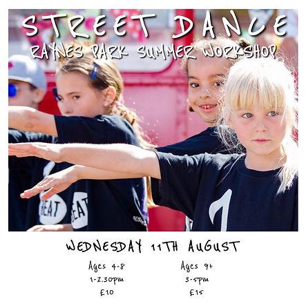 Raynes Park Summer Street Dance Workshop.JPG