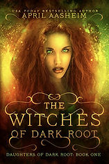 The Witches of Dark Root book 1 cover -