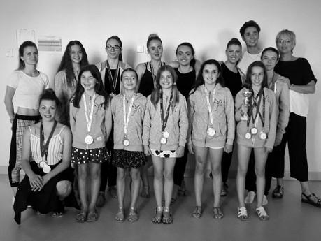 De belles médailles chez Vita Danse