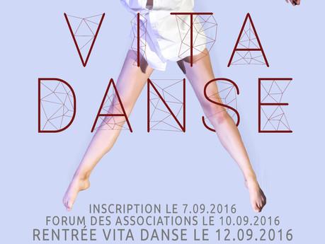 La Rentrée Chez Vita Danse