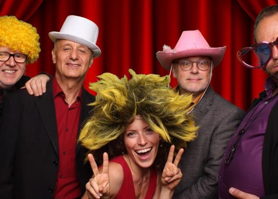 Party-Band, Hannes Oberwalder, Harald Putz, Lisi Dorn, Wolfgang Dorer und ...